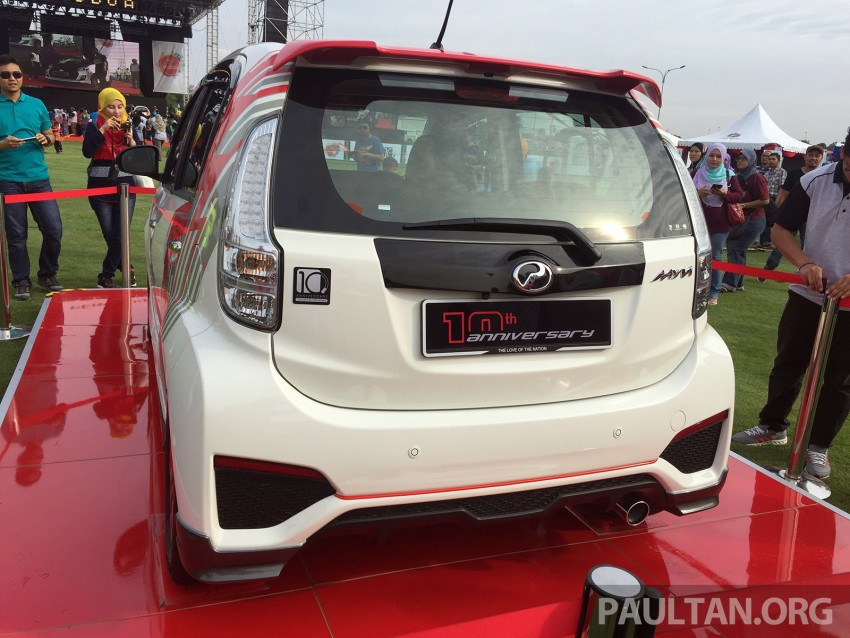Perodua Myvi celebrates 10th anniversary – limited edition Commemorative Myvi revealed, 10 units only Image #342435