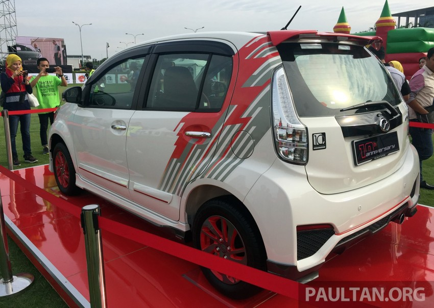 Perodua Myvi celebrates 10th anniversary – limited edition Commemorative Myvi revealed, 10 units only Image #342436