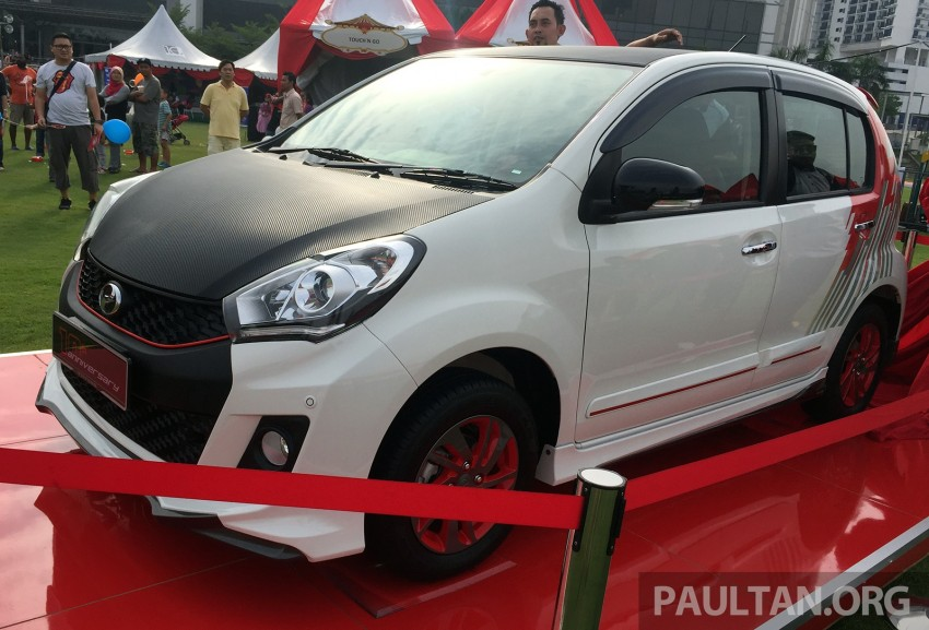 Perodua Myvi celebrates 10th anniversary – limited edition Commemorative Myvi revealed, 10 units only Image #342440