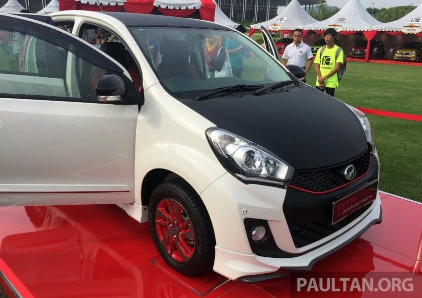 Perodua Myvi celebrates 10th anniversary – limited edition Commemorative Myvi revealed, 10 units only Image #342441