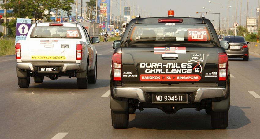 Isuzu D-MAX – Thailand to Singapore in a single tank! Image #334908