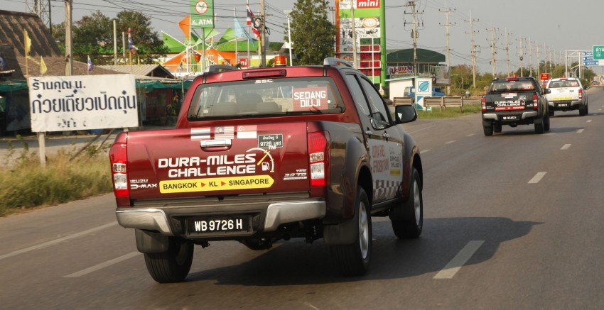Isuzu D-MAX – Thailand to Singapore in a single tank! Image #334909