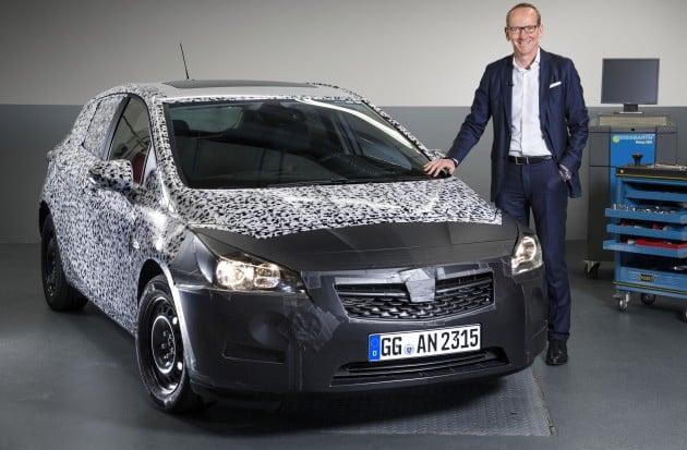 Opel Astra K 1