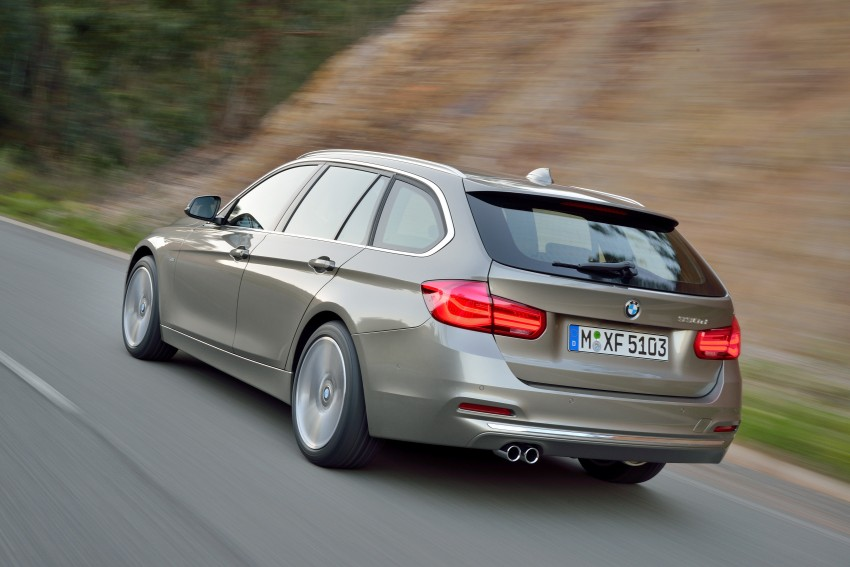 F30 BMW 3 Series LCI unveiled – updated looks, new engine lineup, 330e plug-in hybrid coming 2016 Image #336443
