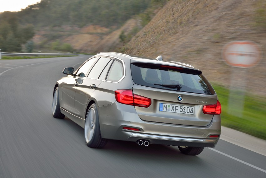F30 BMW 3 Series LCI unveiled – updated looks, new engine lineup, 330e plug-in hybrid coming 2016 Image #336439