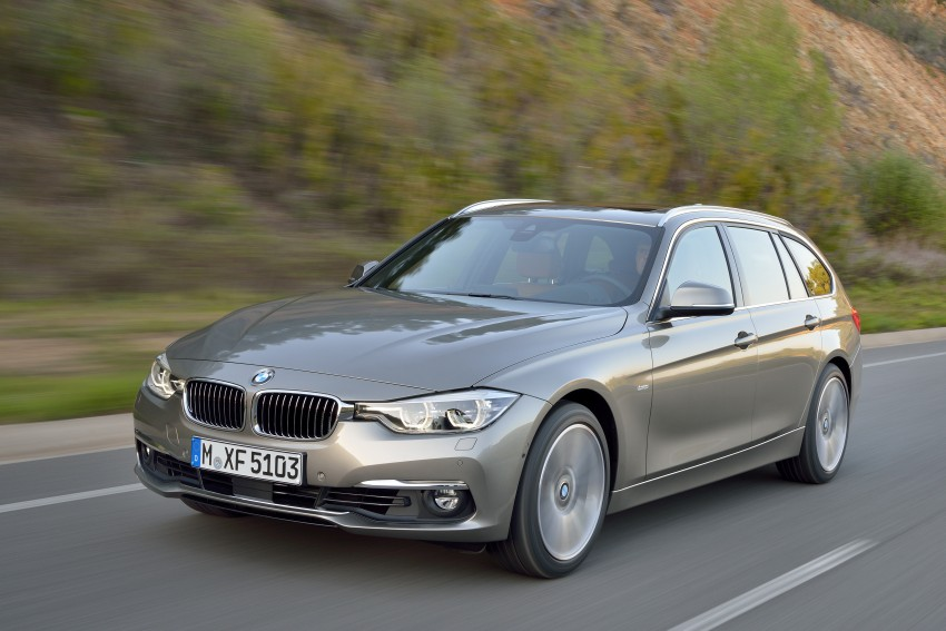 F30 BMW 3 Series LCI unveiled – updated looks, new engine lineup, 330e plug-in hybrid coming 2016 Image #336440