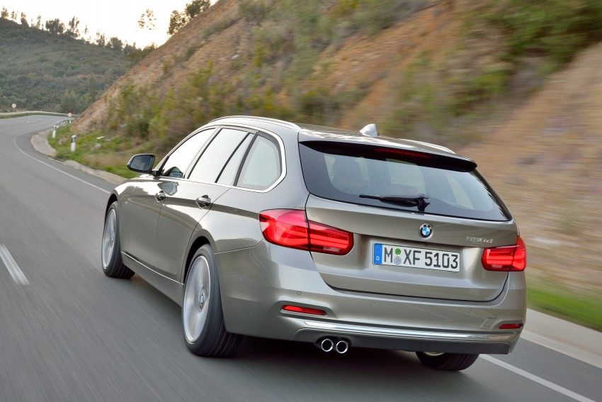 F30 BMW 3 Series LCI unveiled – updated looks, new engine lineup, 330e plug-in hybrid coming 2016 Image #336437