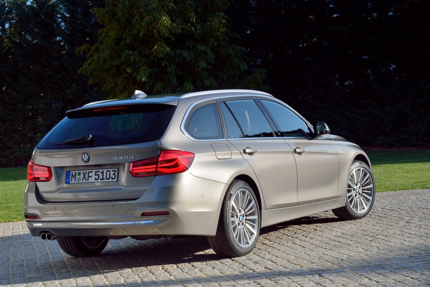 F30 BMW 3 Series LCI unveiled – updated looks, new engine lineup, 330e plug-in hybrid coming 2016 Image #336430