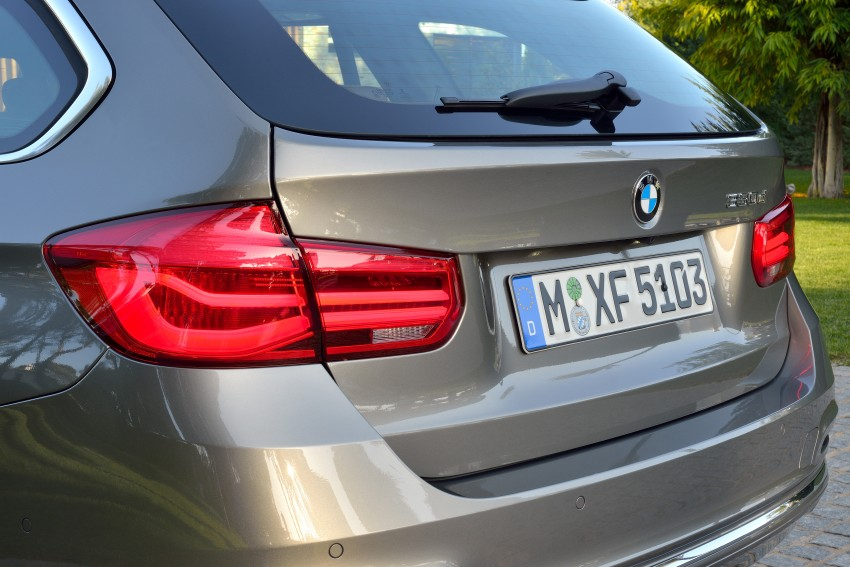 F30 BMW 3 Series LCI unveiled – updated looks, new engine lineup, 330e plug-in hybrid coming 2016 Image #336434