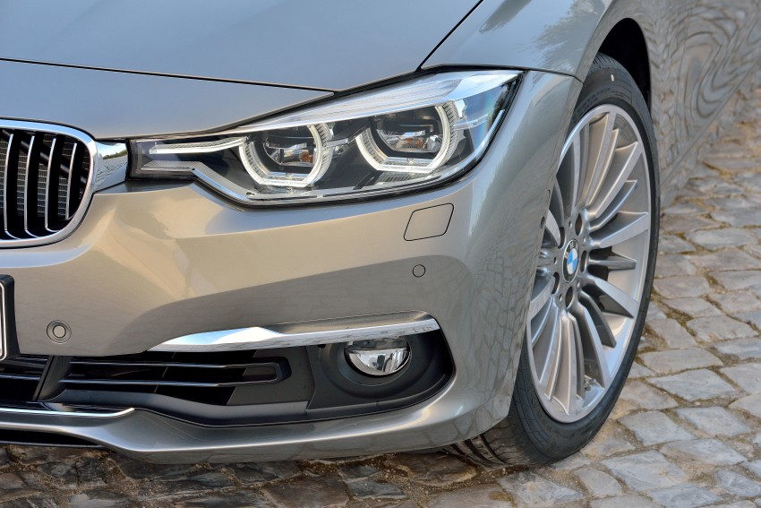 F30 BMW 3 Series LCI unveiled – updated looks, new engine lineup, 330e plug-in hybrid coming 2016 Image #336428