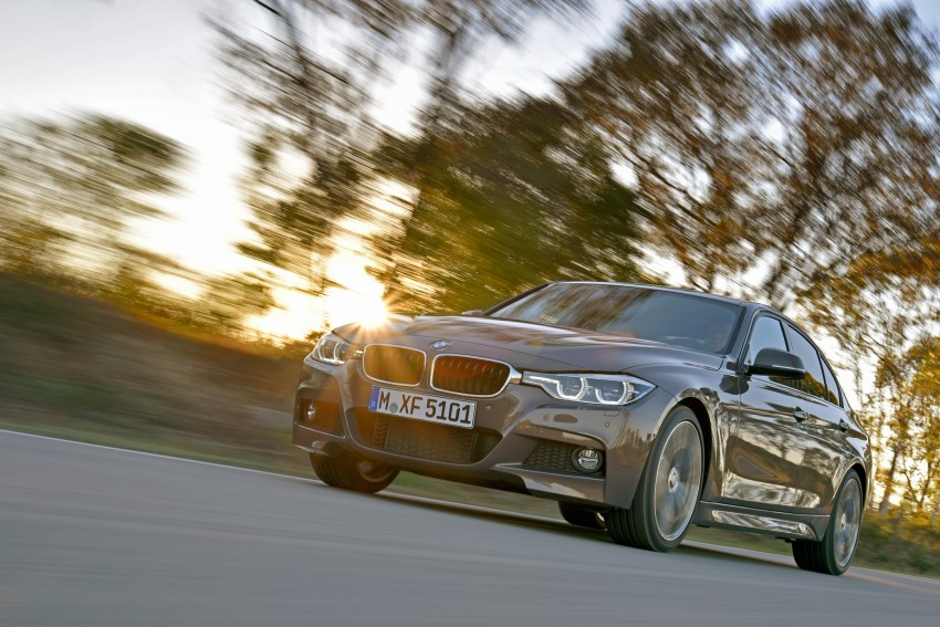 F30 BMW 3 Series LCI unveiled – updated looks, new engine lineup, 330e plug-in hybrid coming 2016 Image #336343