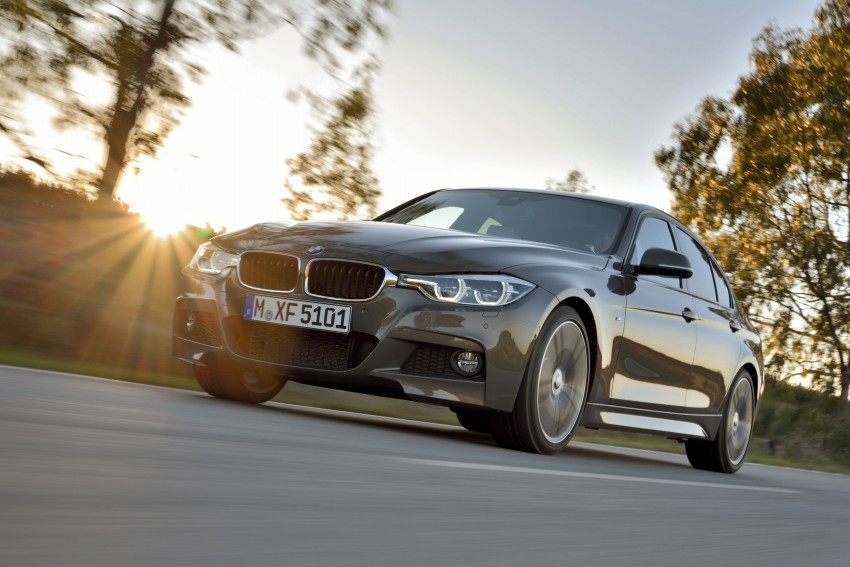 F30 BMW 3 Series LCI unveiled – updated looks, new engine lineup, 330e plug-in hybrid coming 2016 Image #336354