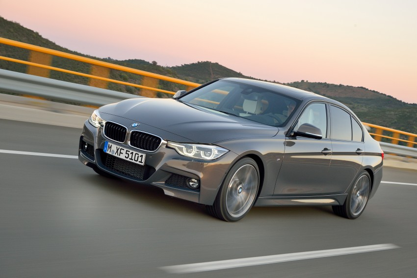 F30 BMW 3 Series LCI unveiled – updated looks, new engine lineup, 330e plug-in hybrid coming 2016 Image #336339
