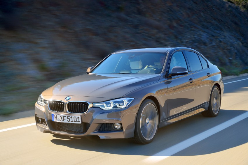 F30 BMW 3 Series LCI unveiled – updated looks, new engine lineup, 330e plug-in hybrid coming 2016 Image #336349