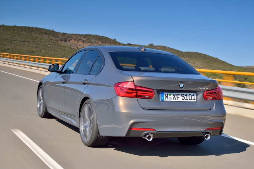 F30 BMW 3 Series LCI unveiled – updated looks, new engine lineup, 330e plug-in hybrid coming 2016 Image #336350