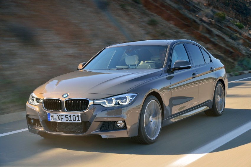 F30 BMW 3 Series LCI unveiled – updated looks, new engine lineup, 330e plug-in hybrid coming 2016 Image #336351