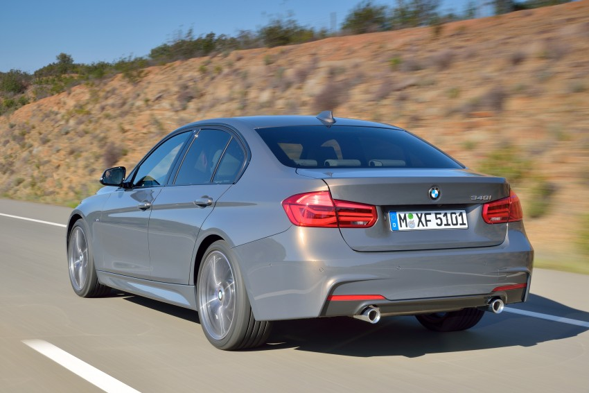 F30 BMW 3 Series LCI unveiled – updated looks, new engine lineup, 330e plug-in hybrid coming 2016 Image #336352