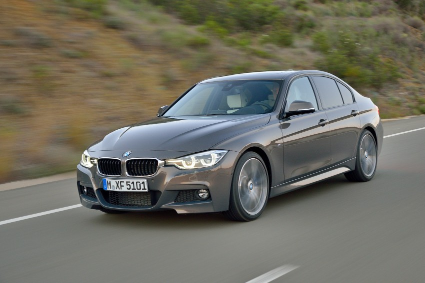 F30 BMW 3 Series LCI unveiled – updated looks, new engine lineup, 330e plug-in hybrid coming 2016 Image #336332
