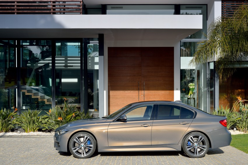 F30 BMW 3 Series LCI unveiled – updated looks, new engine lineup, 330e plug-in hybrid coming 2016 Image #336335