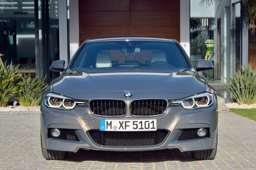 F30 BMW 3 Series LCI unveiled – updated looks, new engine lineup, 330e plug-in hybrid coming 2016 Image #336336