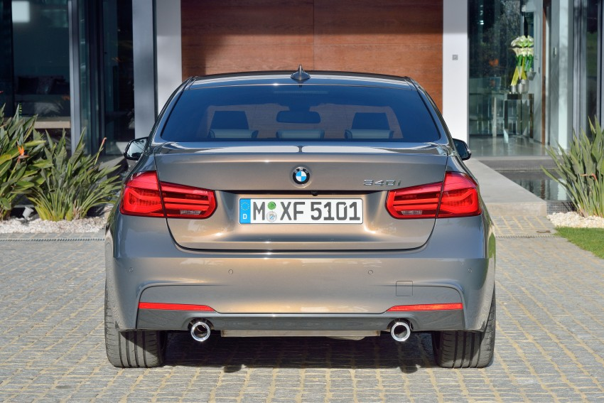 F30 BMW 3 Series LCI unveiled – updated looks, new engine lineup, 330e plug-in hybrid coming 2016 Image #336337