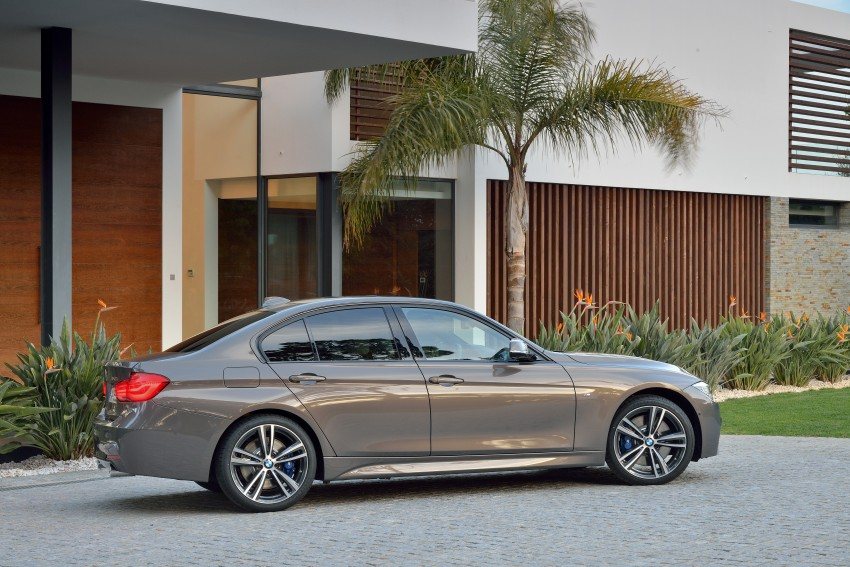 F30 BMW 3 Series LCI unveiled – updated looks, new engine lineup, 330e plug-in hybrid coming 2016 Image #336334