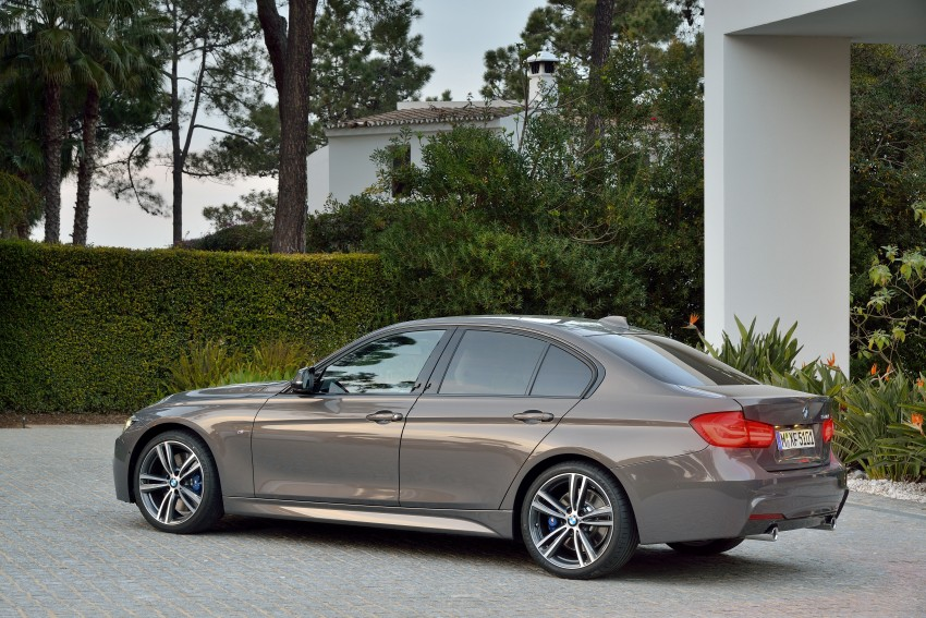 F30 BMW 3 Series LCI unveiled – updated looks, new engine lineup, 330e plug-in hybrid coming 2016 Image #336331
