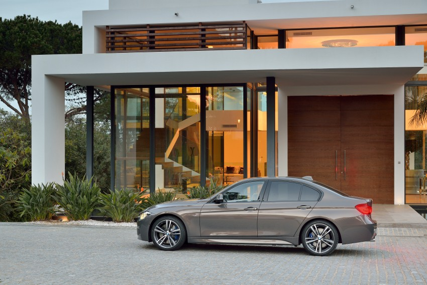 F30 BMW 3 Series LCI unveiled – updated looks, new engine lineup, 330e plug-in hybrid coming 2016 Image #336333