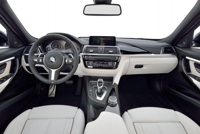 F30 BMW 3 Series LCI unveiled – updated looks, new engine lineup, 330e plug-in hybrid coming 2016 Image #336347