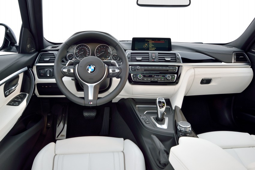 F30 BMW 3 Series LCI unveiled – updated looks, new engine lineup, 330e plug-in hybrid coming 2016 Image #336344