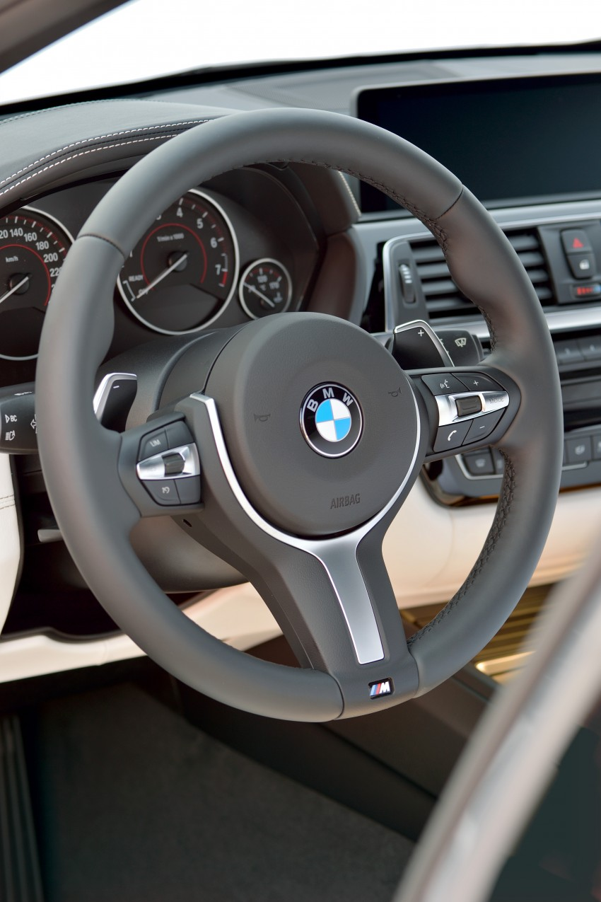 F30 BMW 3 Series LCI unveiled – updated looks, new engine lineup, 330e plug-in hybrid coming 2016 Image #336356