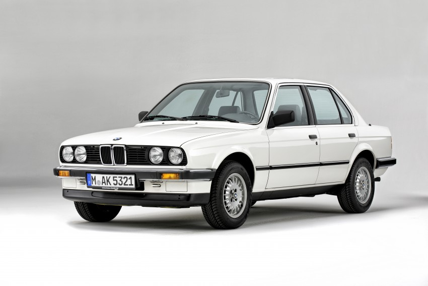 The BMW 3 Series – six generations over four decades Image #336770
