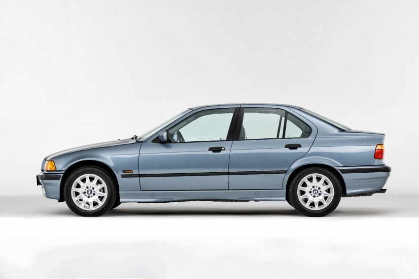 The BMW 3 Series – six generations over four decades Image #336779