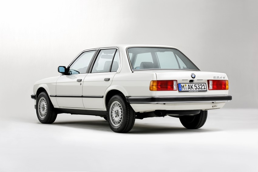The BMW 3 Series – six generations over four decades Image #336772