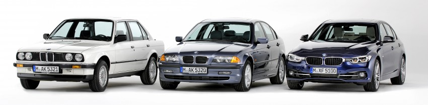 The BMW 3 Series – six generations over four decades Image #336751