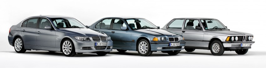 The BMW 3 Series – six generations over four decades Image #336757