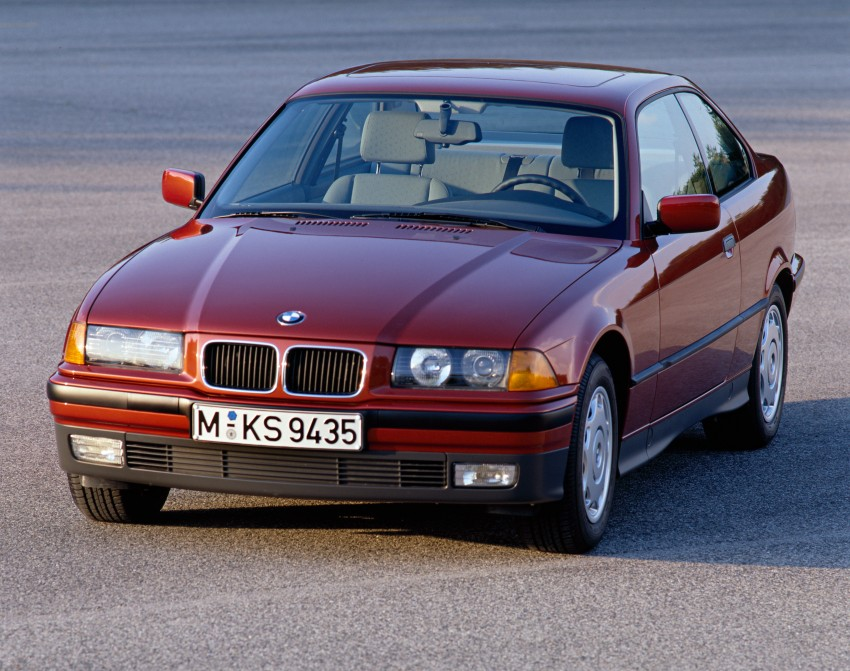 The BMW 3 Series – six generations over four decades Image #336783