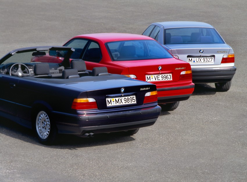 The BMW 3 Series – six generations over four decades Image #336784