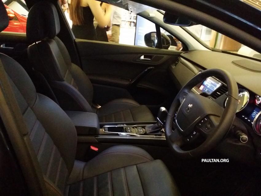Peugeot 508 GT facelift previewed – RM205k estimated Image #338394