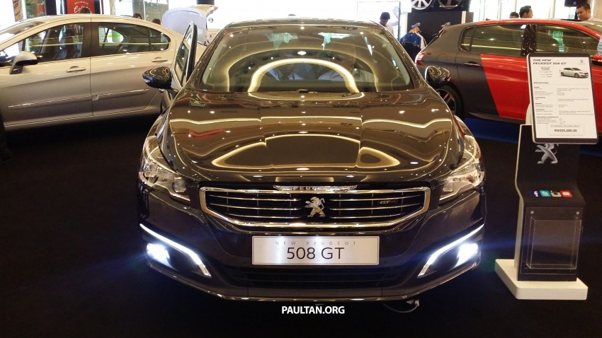 Peugeot 508 GT facelift previewed – RM205k estimated Image #338400