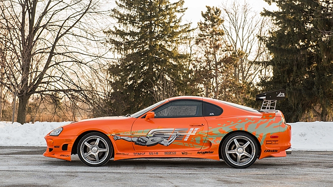 2018 Toyota Supra >> Paul Walker's 1993 Toyota Supra Mk4 from the original Fast and Furious movie sold for US$185k ...