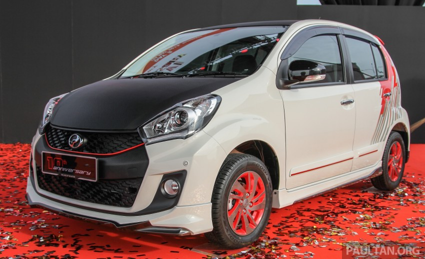 Perodua Myvi celebrates 10th anniversary – limited edition Commemorative Myvi revealed, 10 units only Image #342458
