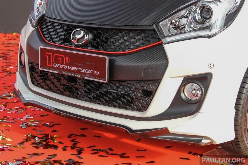 Perodua Myvi celebrates 10th anniversary – limited edition Commemorative Myvi revealed, 10 units only Image #342460