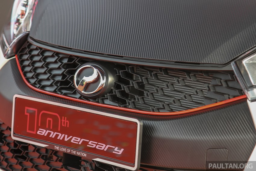 Perodua Myvi celebrates 10th anniversary – limited edition Commemorative Myvi revealed, 10 units only Image #342461