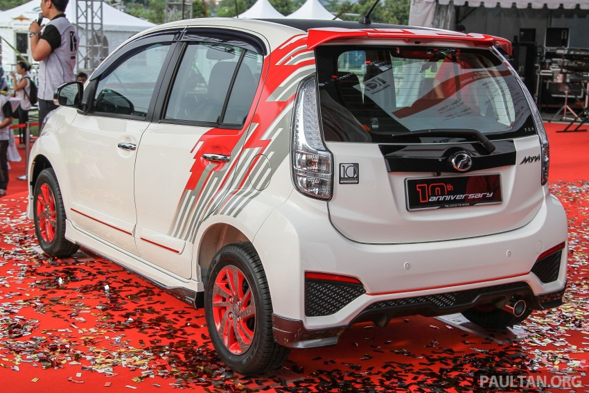 Perodua Myvi celebrates 10th anniversary – limited edition Commemorative Myvi revealed, 10 units only Image #342474
