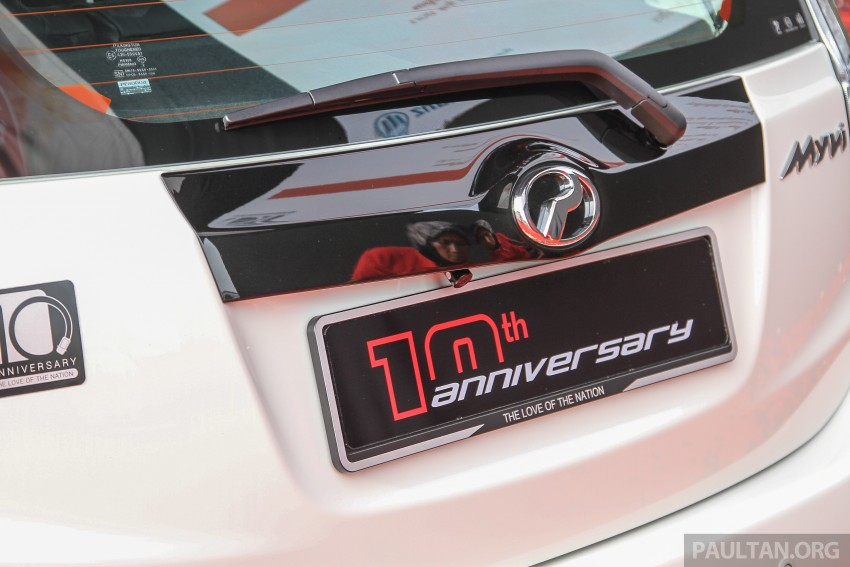 Perodua Myvi celebrates 10th anniversary – limited edition Commemorative Myvi revealed, 10 units only Image #342475