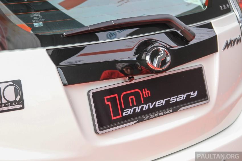 Perodua Myvi celebrates 10th anniversary – limited edition Commemorative Myvi revealed, 10 units only Image #342475