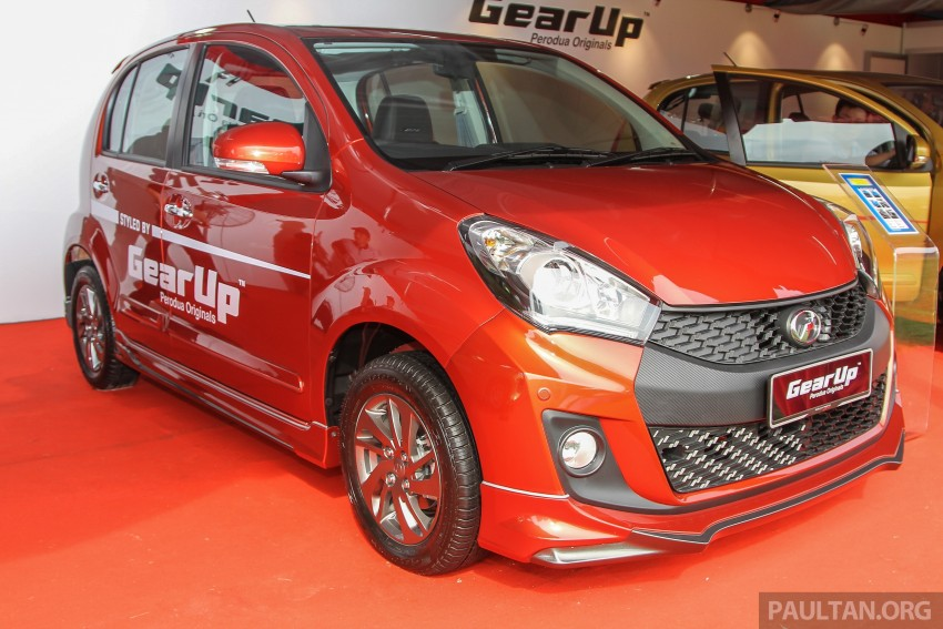Perodua Myvi GearUp accessories – details and prices Image #342380