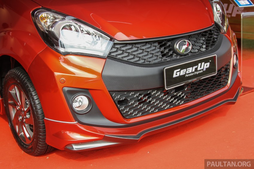 Perodua Myvi GearUp accessories – details and prices Image #342381