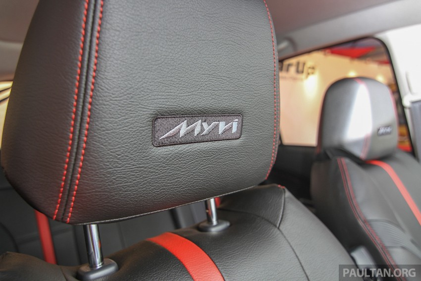 Perodua Myvi GearUp accessories – details and prices Image #342387